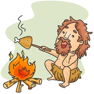 Caveman Eating