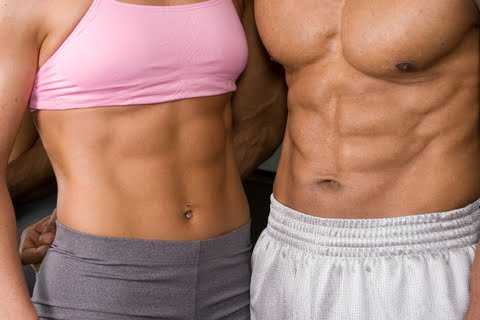 Muscle through Dieting