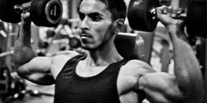 Building Shoulder Muscles with Dumbbells