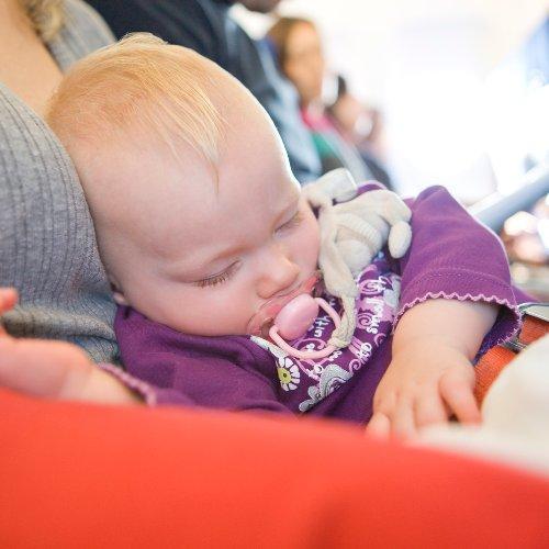 Baby in Flight